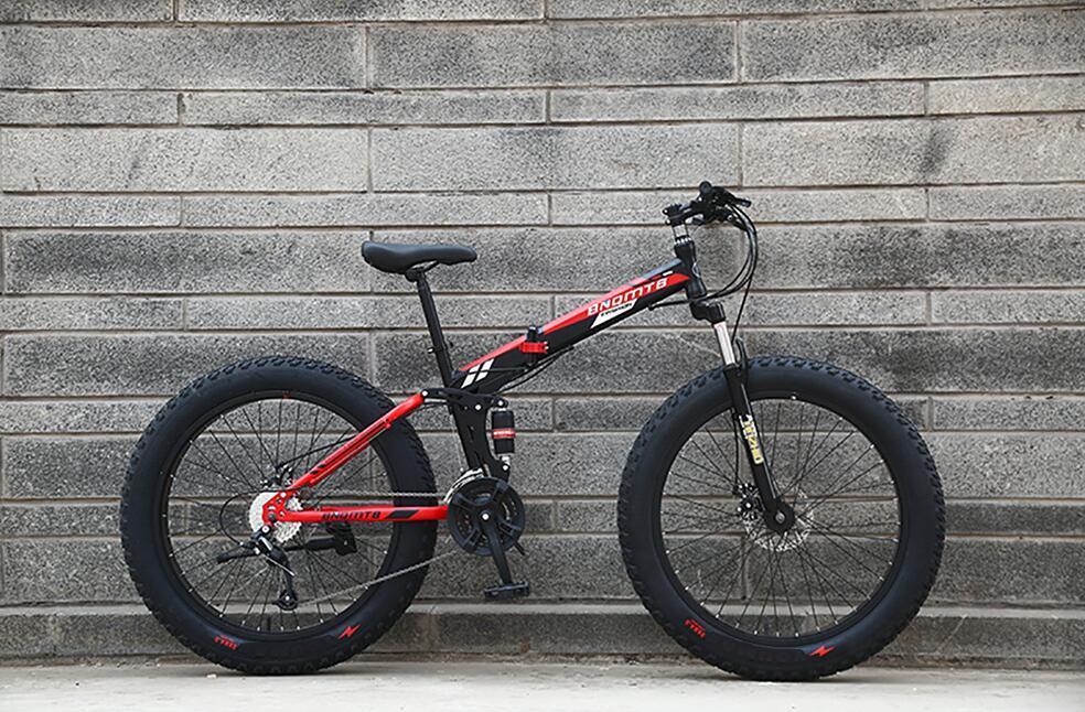 折り畳み自転車 26インチ 完成品 マウンテンバイク ディスクブレーキ アルミ 21段変速 極太タイヤ