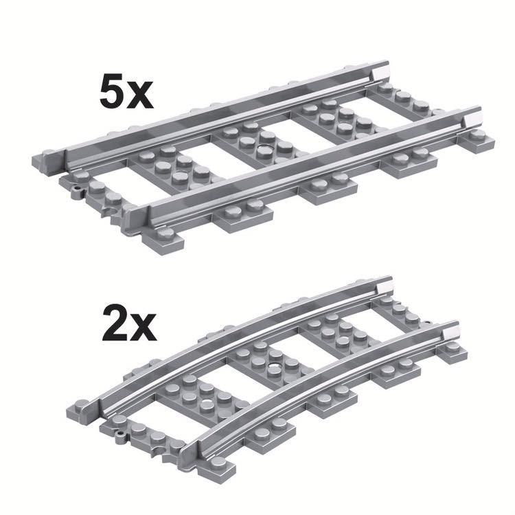 レゴ互換 路面電車風 トレイン_画像3