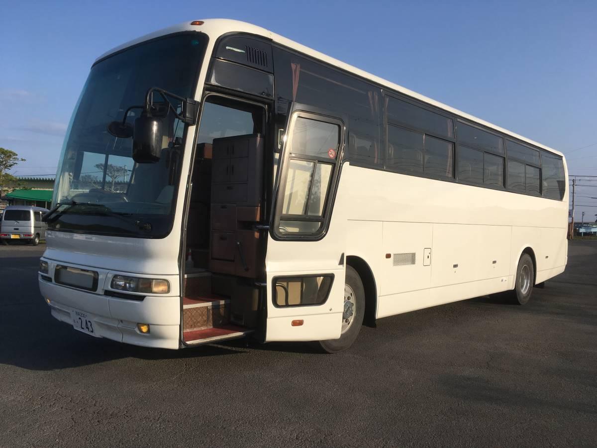 「観光バス♪超綺麗♪ナンバー付♪即納車OK♪バス♪大型バス♪見に来て下さい♪豪華♪綺麗♪56人乗り♪赤字♪即決あり♪超安い♪売り切り♪」の画像1