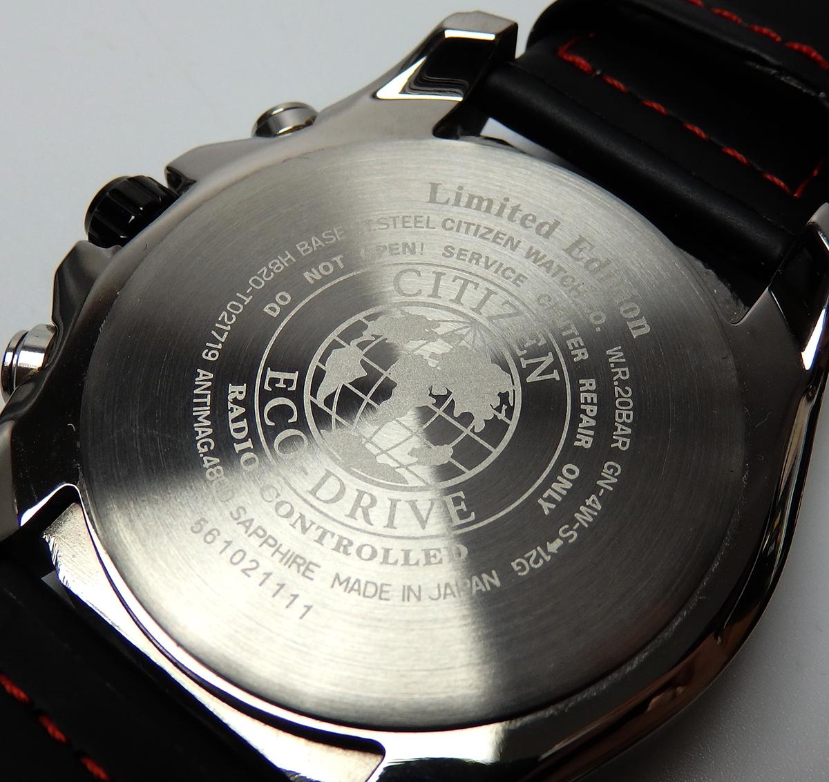 ■□【美品】シチズン CITIZEN エコドライブ AT9065-00E ダブルダイレクトフライト 限定モデル 電波 ソーラー メンズ 腕時計□■_画像7