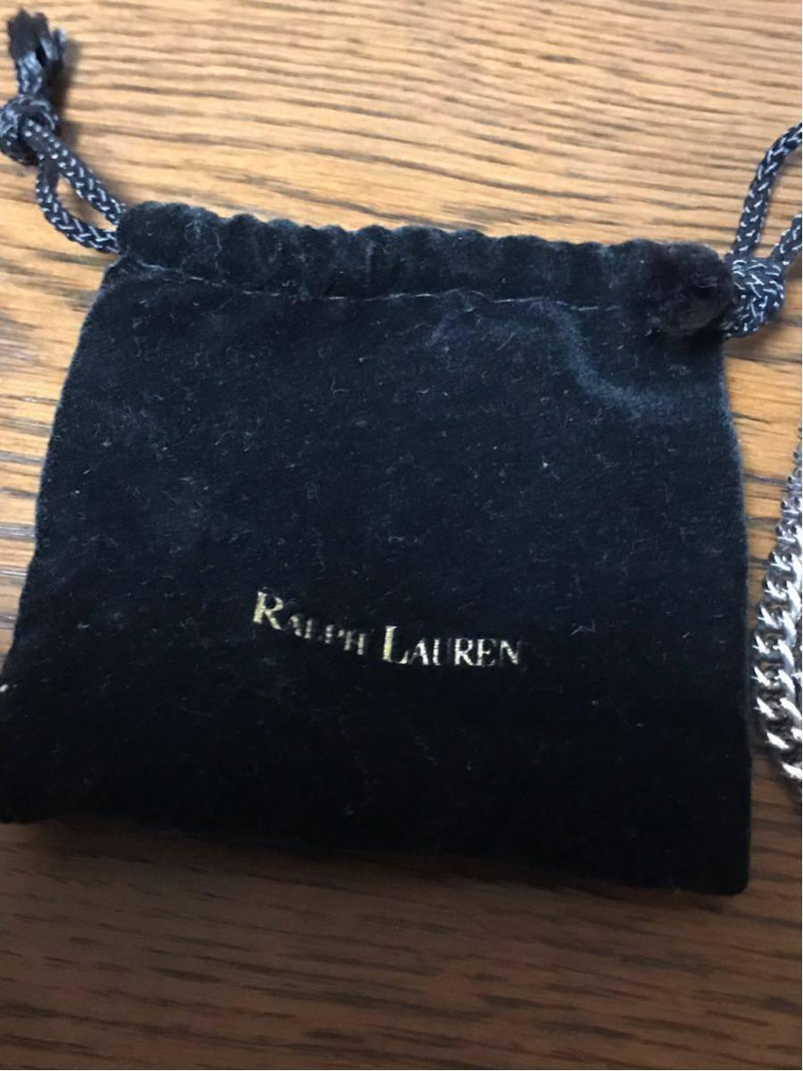 RALPH LAUREN ラルフローレン シルバー ネックレス 29.4g ⑧_画像8