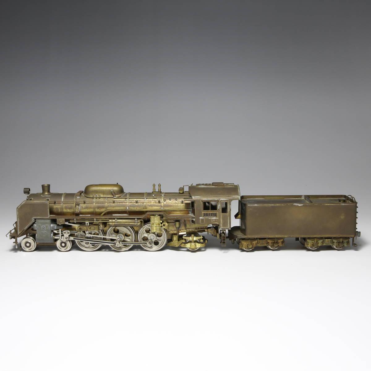 メーカー不明 国鉄 C59 蒸気機関車 未塗装 送料無料_画像2