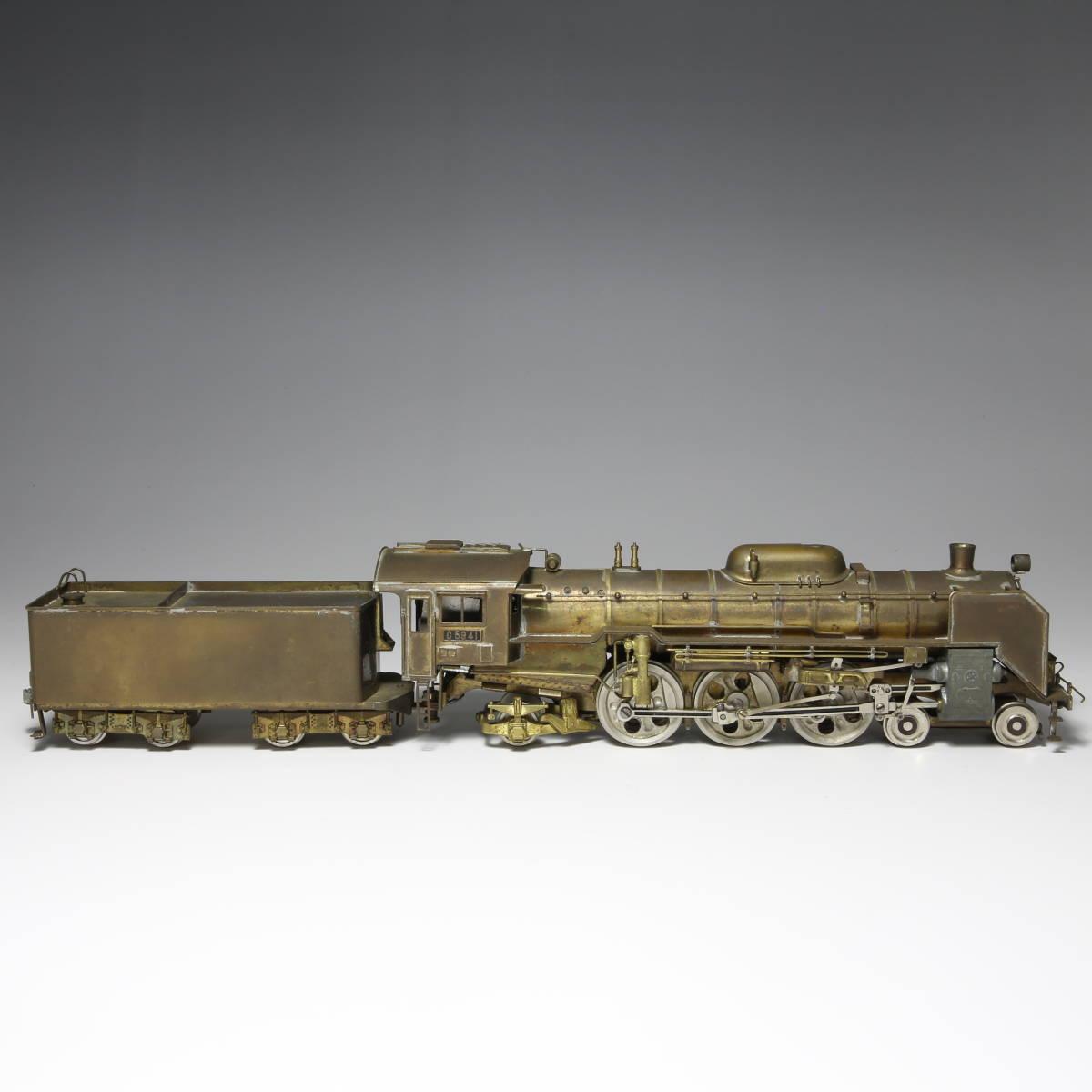 メーカー不明 国鉄 C59 蒸気機関車 未塗装 送料無料_画像3