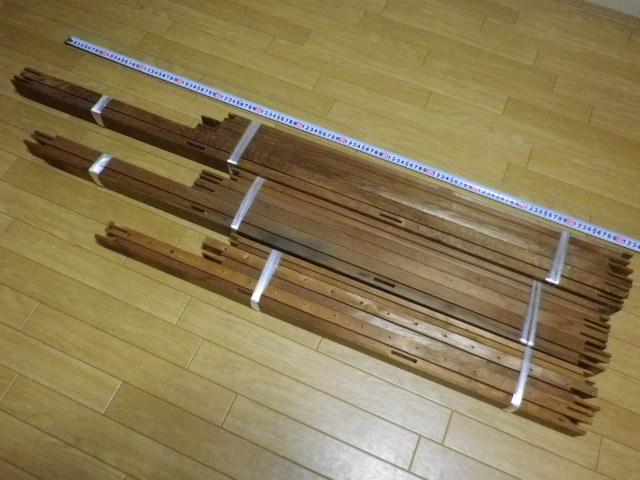 キャンバス木枠 P60 P50 P30 計3個 送料込み価格●P30のみ釘穴あり中古 長期保管品 変色 ヤケあります