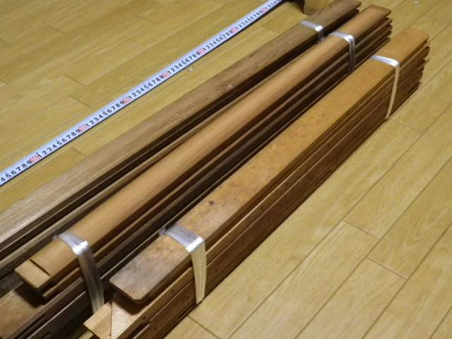 キャンバス木枠 P60 P50 P30 計3個 送料込み価格●P30のみ釘穴あり中古 長期保管品 変色 ヤケあります_画像10