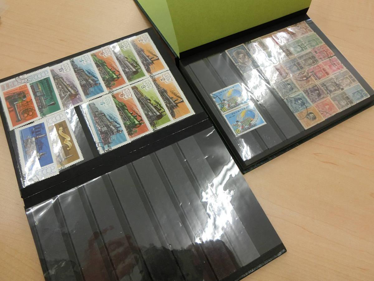 (8/10-b) 外国切手 世界切手 おまとめ お宝さがし 大量 未使用&使用済 book_画像10