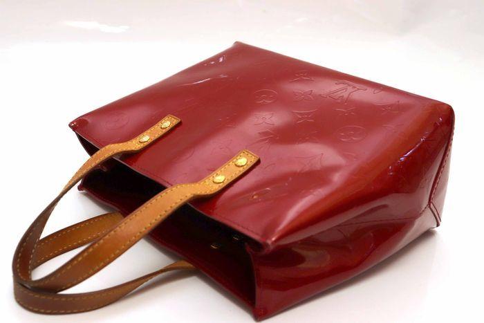 【美品】ルイヴィトン Louis Vuitton モノグラム ヴェルニリードPM M91088 ルージュ 赤 ハンドバッグ カバン 鞄 _画像4