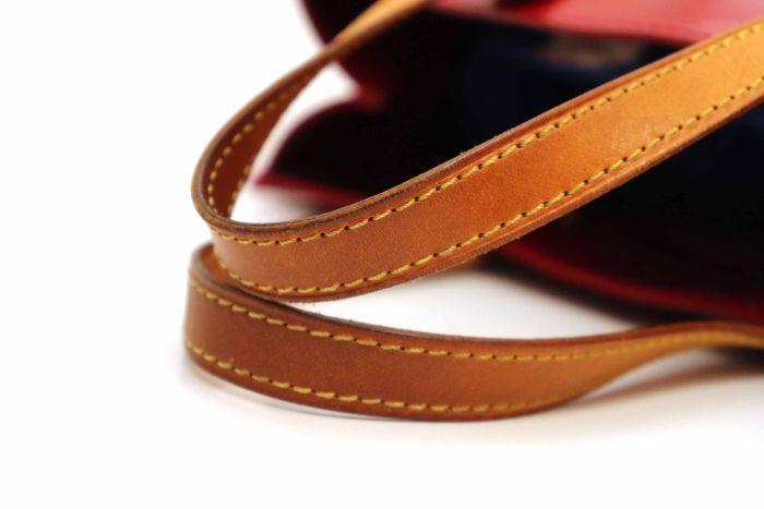【美品】ルイヴィトン Louis Vuitton モノグラム ヴェルニリードPM M91088 ルージュ 赤 ハンドバッグ カバン 鞄 _画像5