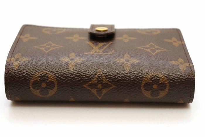 使用僅か【極美品】Louis Vuitton ルイヴィトン モノグラム ポルトモネ ビエ ヴィエノワ 二つ折り がま口 財布 M61663_画像3