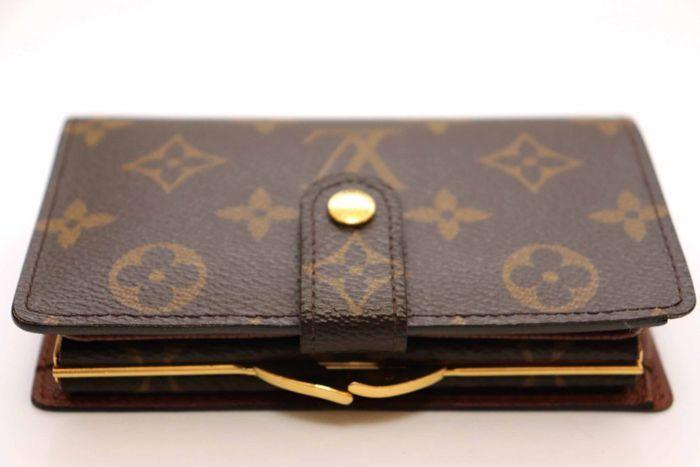 使用僅か【極美品】Louis Vuitton ルイヴィトン モノグラム ポルトモネ ビエ ヴィエノワ 二つ折り がま口 財布 M61663_画像4
