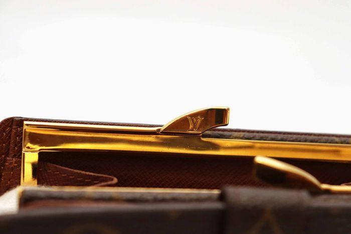 使用僅か【極美品】Louis Vuitton ルイヴィトン モノグラム ポルトモネ ビエ ヴィエノワ 二つ折り がま口 財布 M61663_画像5