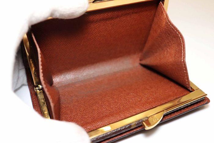 使用僅か【極美品】Louis Vuitton ルイヴィトン モノグラム ポルトモネ ビエ ヴィエノワ 二つ折り がま口 財布 M61663_画像8