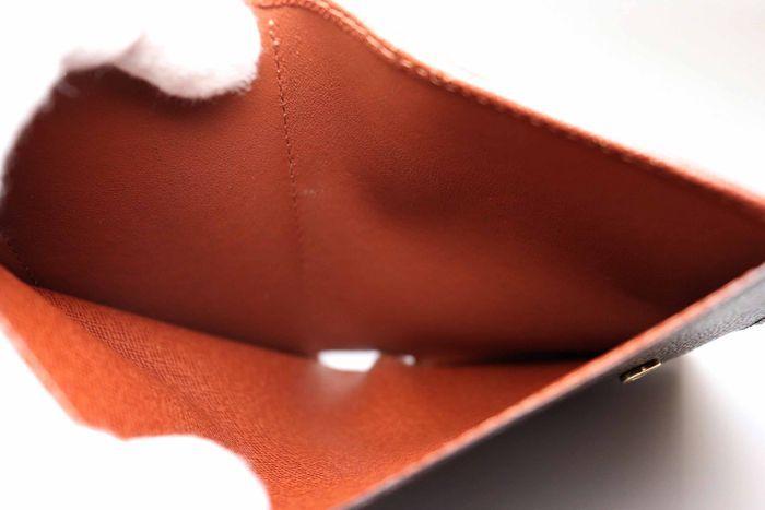 使用僅か【極美品】Louis Vuitton ルイヴィトン モノグラム ポルトモネ ビエ ヴィエノワ 二つ折り がま口 財布 M61663_画像9