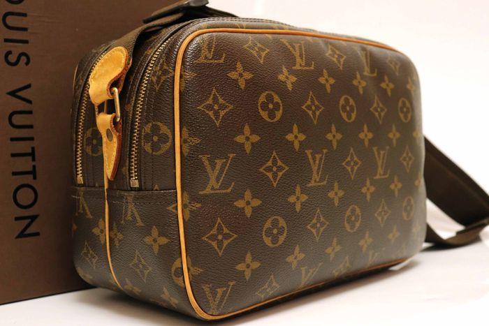 【美品】ルイヴィトン Louis Vuitton モノグラム リポーターPM ショルダーバッグ 斜め掛け メッセンジャーバッグ 鞄 定価約16万円_画像2