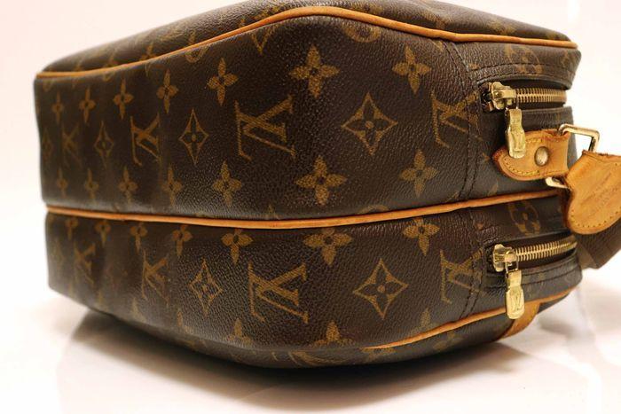 【美品】ルイヴィトン Louis Vuitton モノグラム リポーターPM ショルダーバッグ 斜め掛け メッセンジャーバッグ 鞄 定価約16万円_画像4
