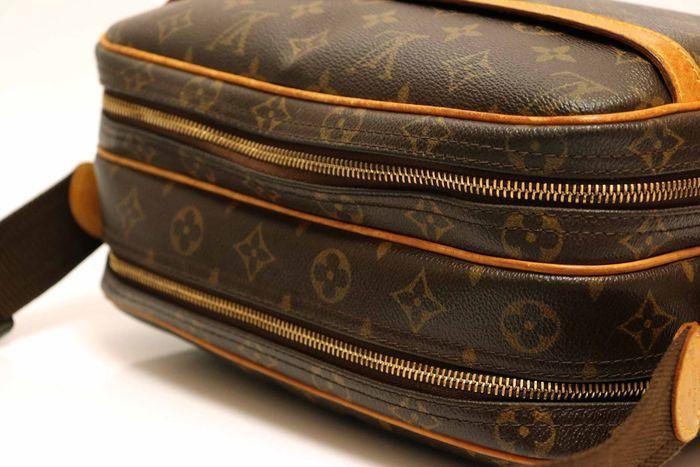 【美品】ルイヴィトン Louis Vuitton モノグラム リポーターPM ショルダーバッグ 斜め掛け メッセンジャーバッグ 鞄 定価約16万円_画像5