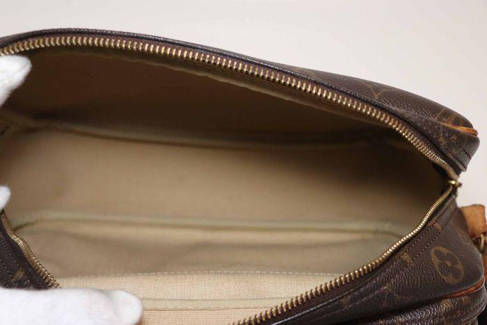 【美品】ルイヴィトン Louis Vuitton モノグラム リポーターPM ショルダーバッグ 斜め掛け メッセンジャーバッグ 鞄 定価約16万円_画像8