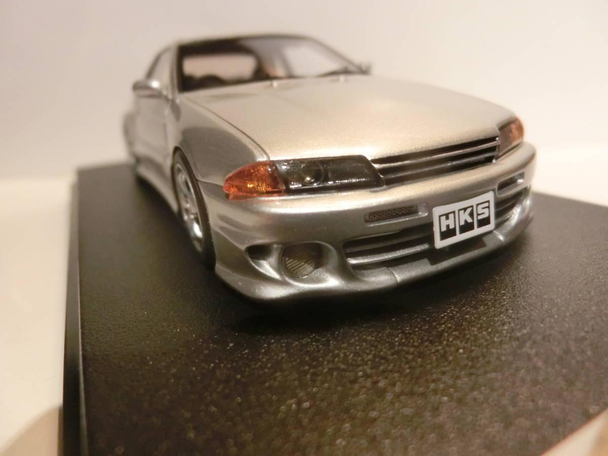 HPI製 1/43 HKS ZERO-R シルバー #8456 スカイライン GT-R32_画像4