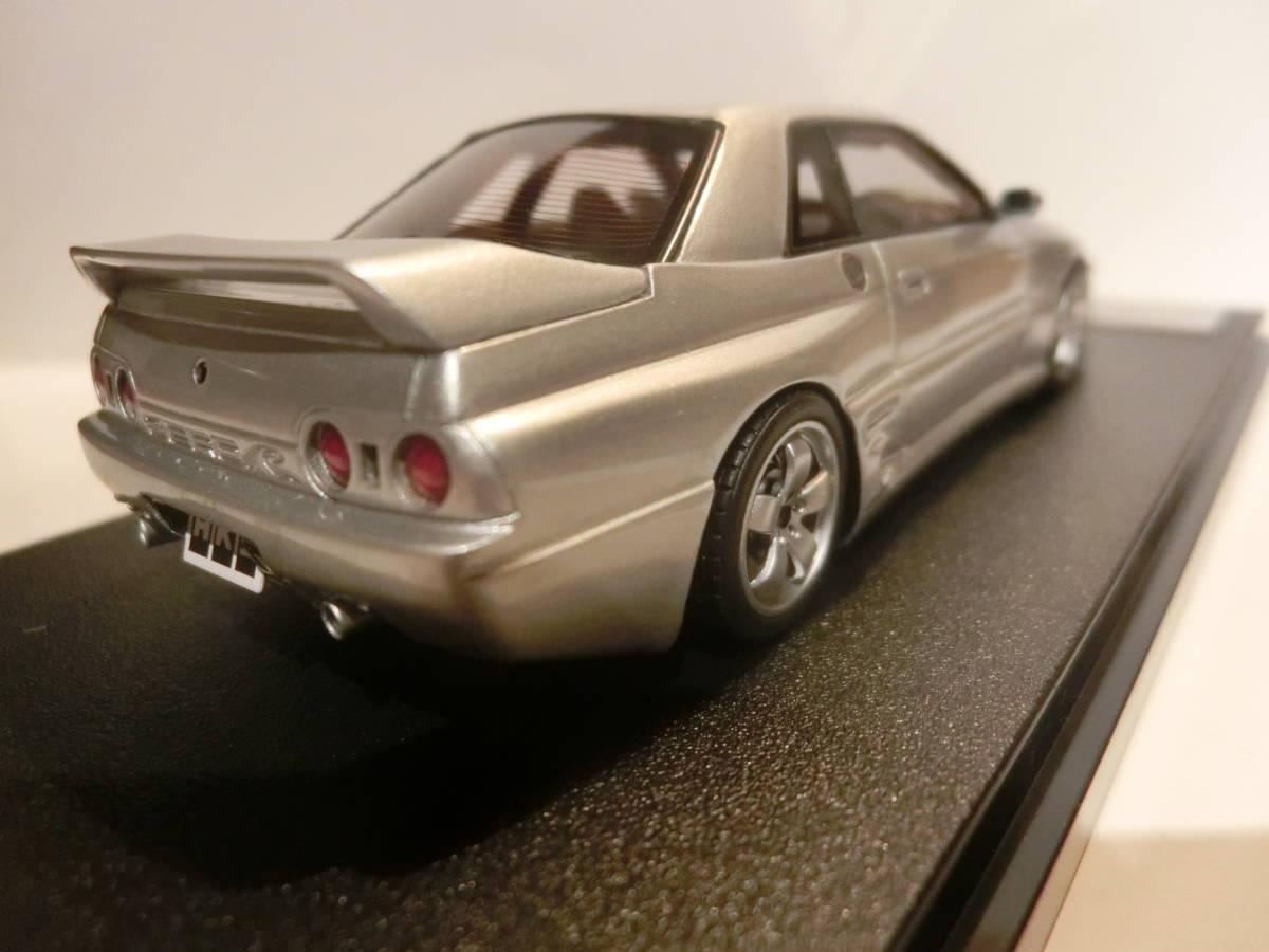 HPI製 1/43 HKS ZERO-R シルバー #8456 スカイライン GT-R32_画像5