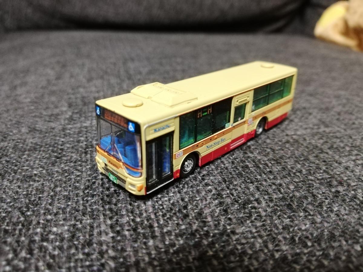 バスコレ 神奈川中央交通 新型エアロスター バスコレクション