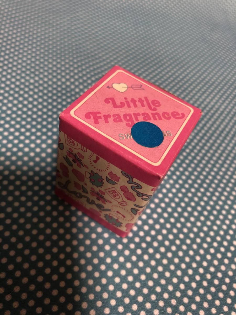 1976年 当時物 リトルツインスターズ リトルフレグランス 匂い袋 いちご 小瓶 レトロ キキララ サンリオ _画像6