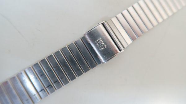 IWCブレス 18mm幅用 SS純正品_画像2