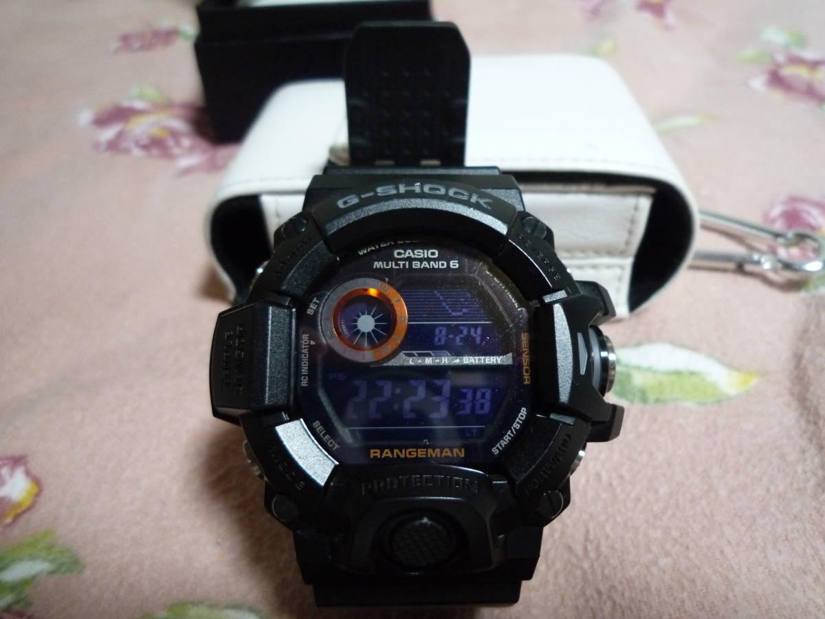カシオ CASIO G-SHOCK 、「G-SHOCK Master of G(マスターオブG)」RANGEMAN レンジマン GW-9400BJ-1JF