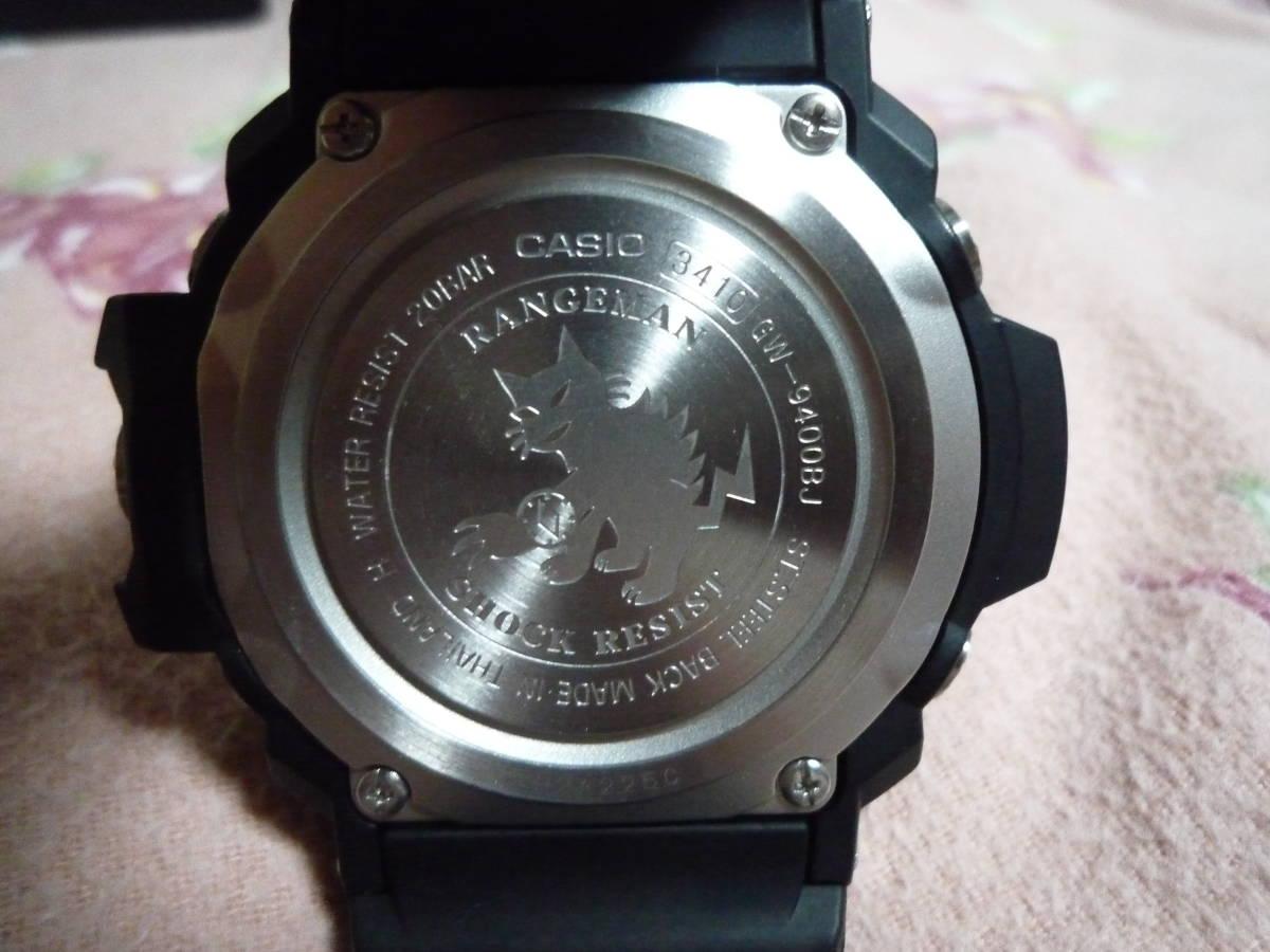 カシオ CASIO G-SHOCK 、「G-SHOCK Master of G(マスターオブG)」RANGEMAN レンジマン GW-9400BJ-1JF_画像3