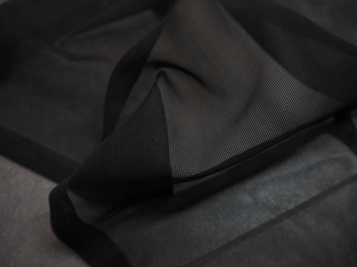 ◆紗織◆木崎法衣店◆未使用◆装束◆化繊◆黒地◆裄70㎝袖丈51㎝肩丈121㎝◆◆佛教神職七条袈裟五条袈裟横被装束神主巫女神社寺和尚_画像7