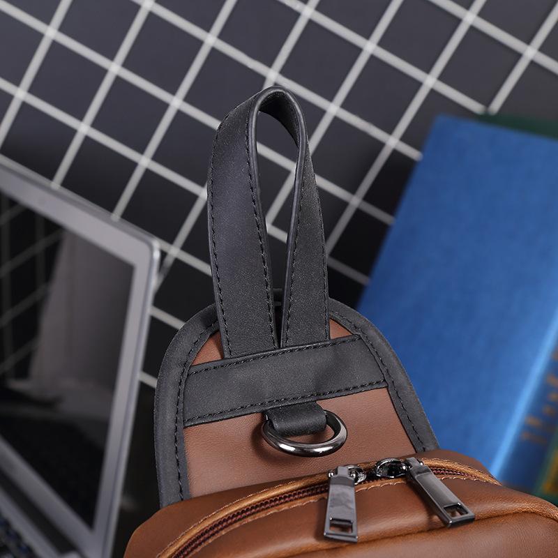 ショルダーバッグ ビジネスバック【超高級定価30万円】 極上品 100%高品質 通勤バッグ 大容量    大量入れ h-32_画像6