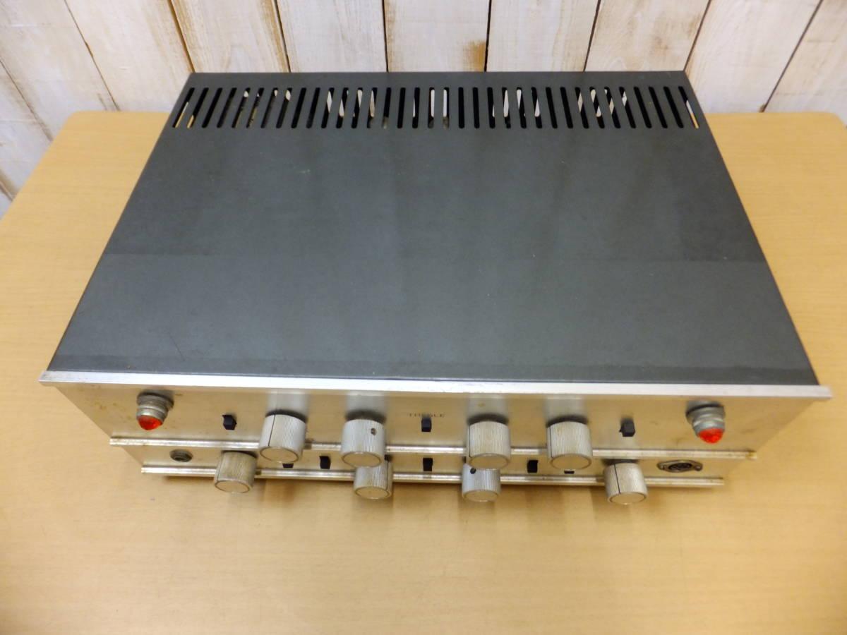 ○S082901 真空管アンプ 現状品 メーカー不明 ジャンク扱い_画像2