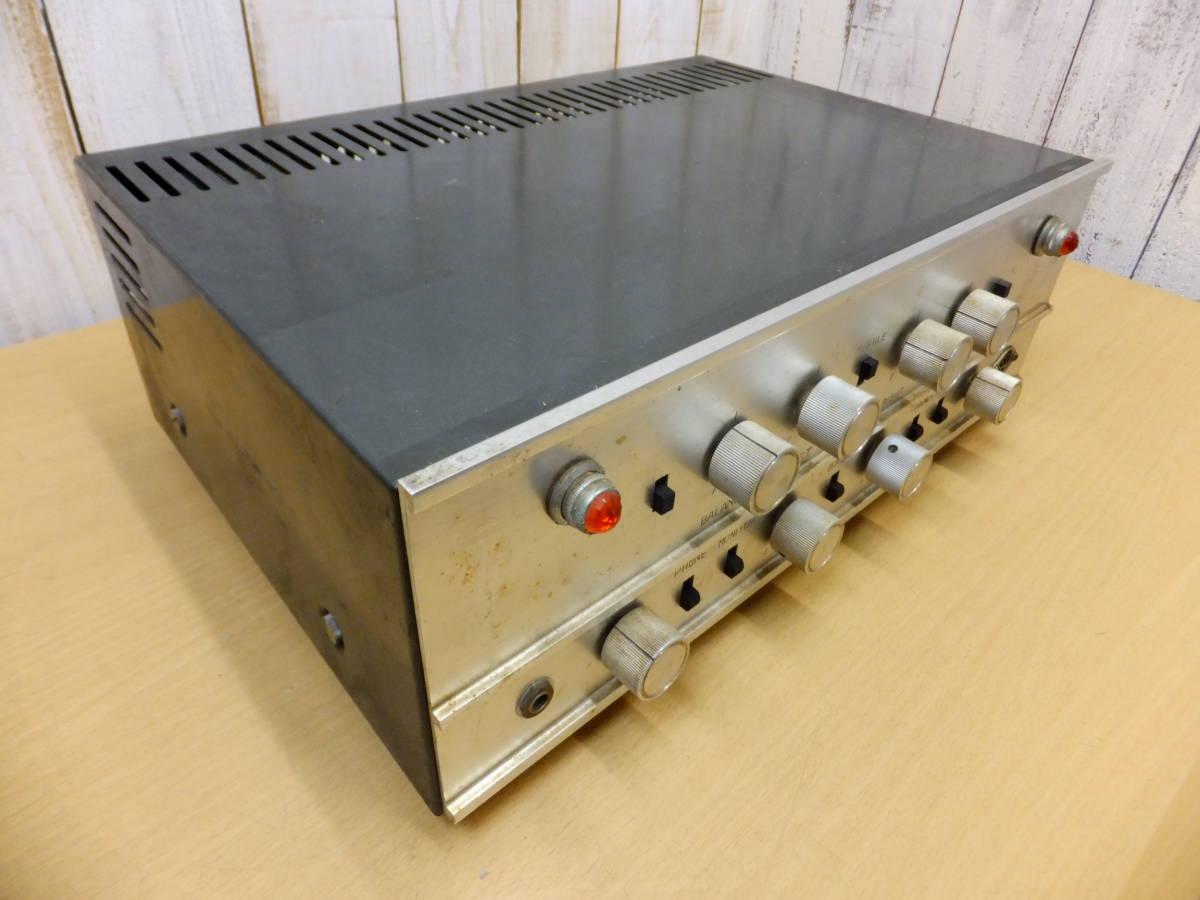 ○S082901 真空管アンプ 現状品 メーカー不明 ジャンク扱い_画像4
