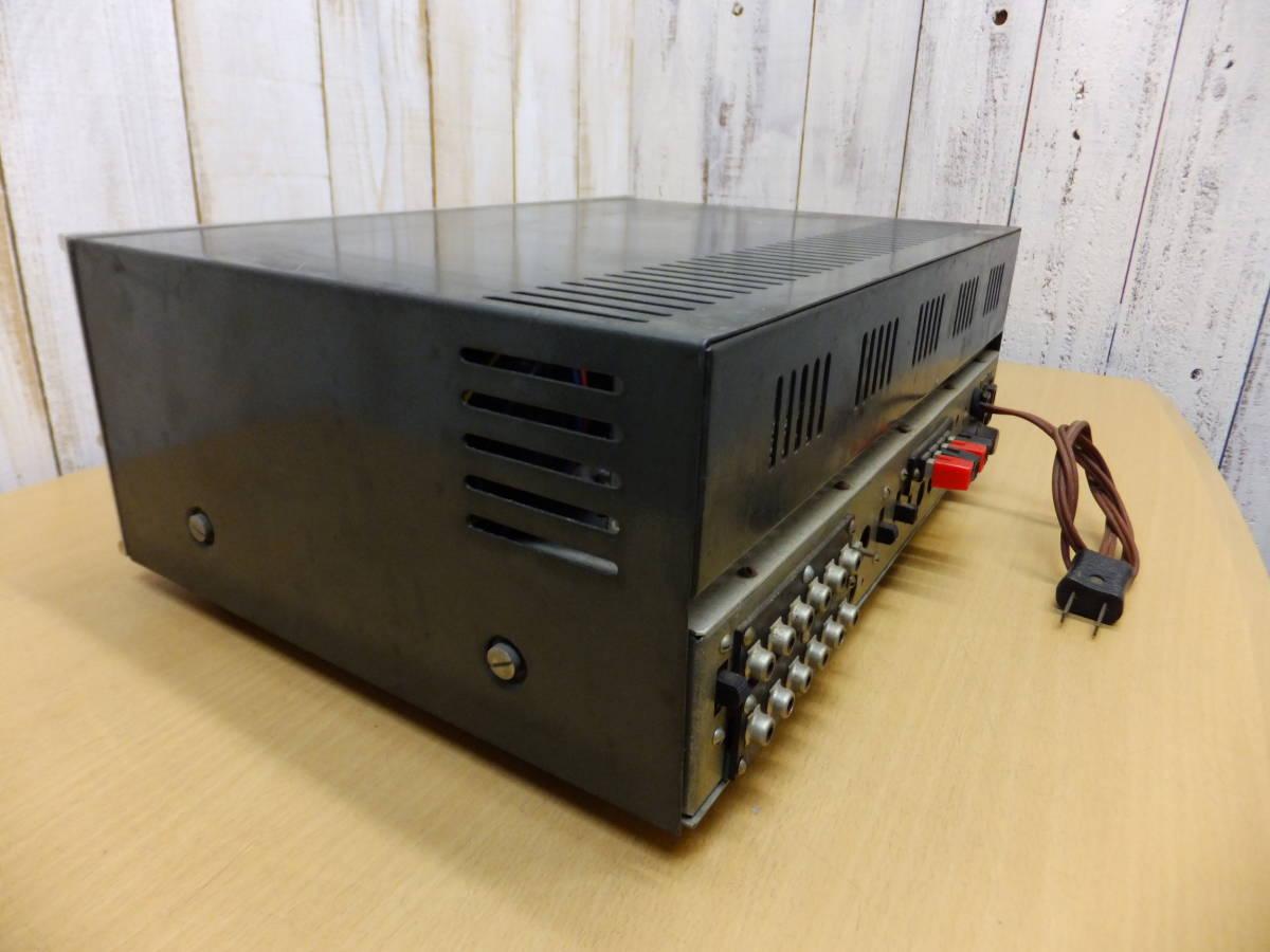 ○S082901 真空管アンプ 現状品 メーカー不明 ジャンク扱い_画像9
