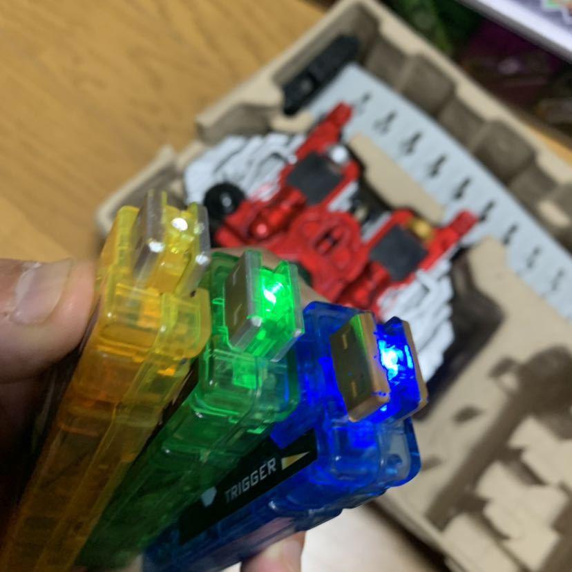 仮面ライダーダブル DX ダブルドライバー DX ガイアメモリ 6本付属 バンダイ 2012年 仮面ライダーW なりきり 変身ベルト_画像5