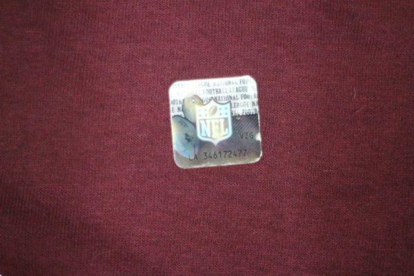 【古着 WASHINGTONREDSKINS NFL チームTシャツ赤XL】ワシントンレッドスキンズアメリカンフットボール夏物衣料大きめサイズHIPHOP 8416_画像6
