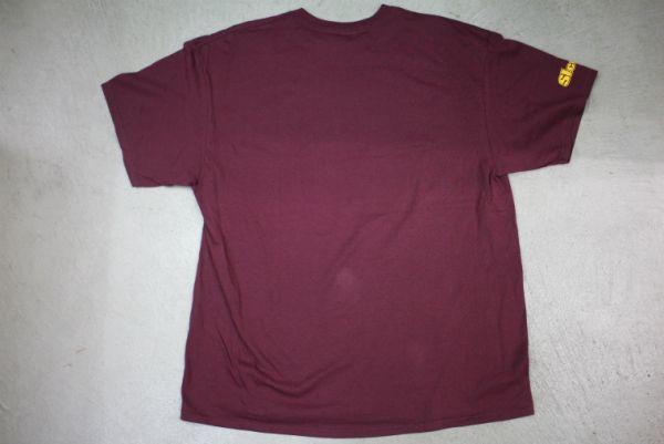 【古着 WASHINGTONREDSKINS NFL チームTシャツ赤XL】ワシントンレッドスキンズアメリカンフットボール夏物衣料大きめサイズHIPHOP 8416_画像3