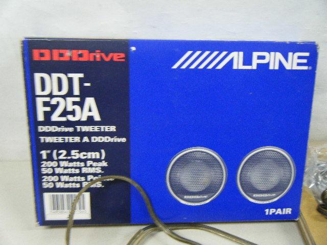 Aて50▲ ALPINE DDT-F25A アルパイン カーオーディオ ツイーター_画像3