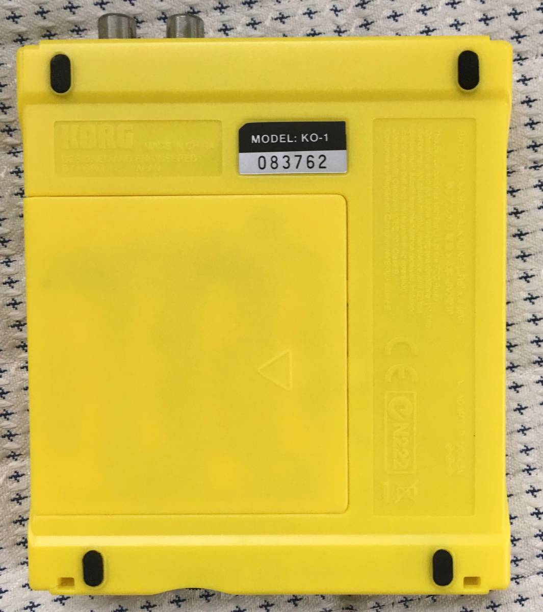 希少 KORG コルグKAOSSILATOR ダイナミック・フレーズ・シンセサイザー 説明書 箱 電池 ミニスピーカー付き_画像2