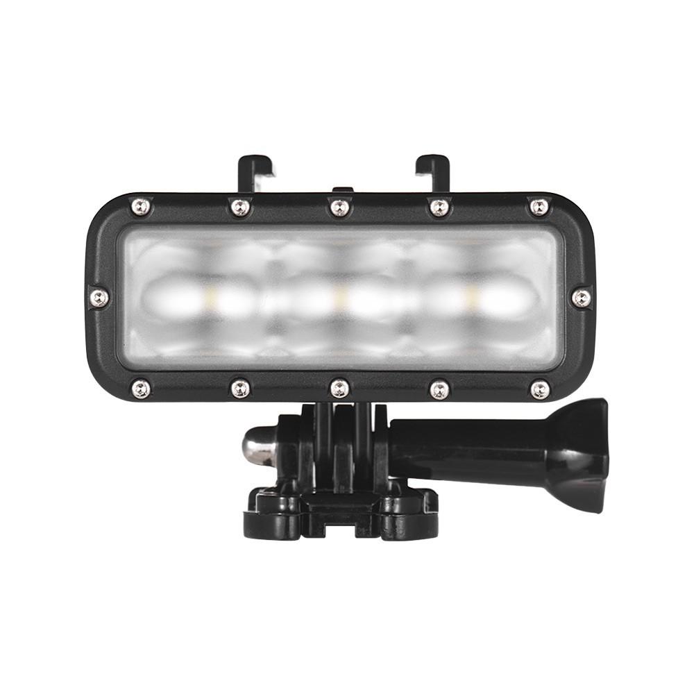 GoPro 7対応 40m 防水 アクションカメラ LEDライト 送料無料_画像2