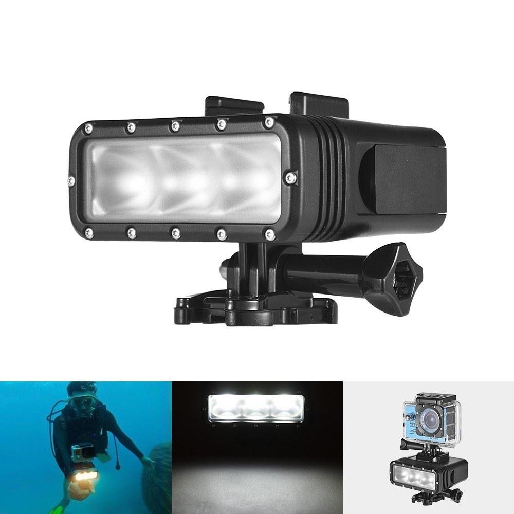 GoPro 7対応 40m 防水 アクションカメラ LEDライト 送料無料_画像6