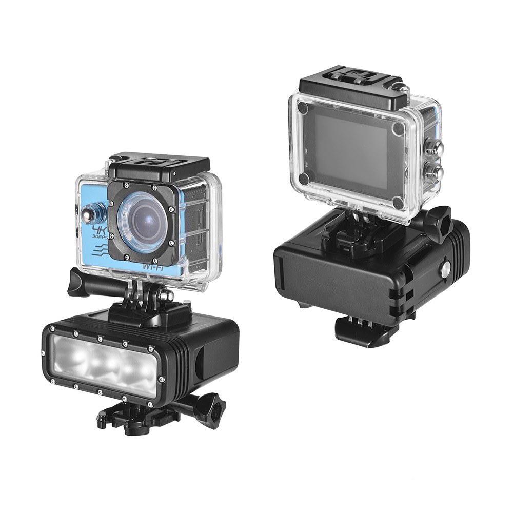 GoPro 7対応 40m 防水 アクションカメラ LEDライト 送料無料_画像7