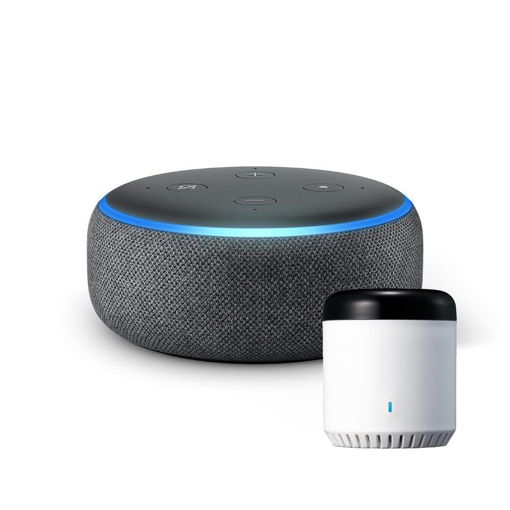 【新品・未開封】 Amazon 第3世代 Echo Dot Alexa対応 スマートスピーカー + LinkJapan eRemote mini IoT リモコン セット IFTTT対応_画像1