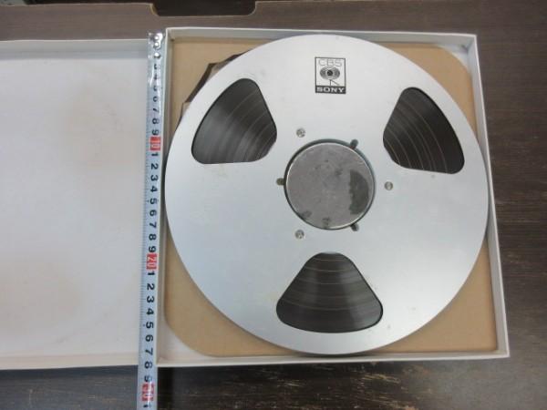 Open reel tape★01★1円スタート!!★CBS SONY アルミ製 オープンリールテープ//