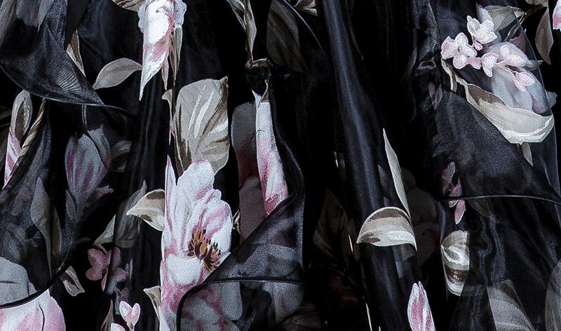 オーダーメード 社交ダンスドレス ラテンドレス モダンドレス ロングスカート ダンスウエア 競技 デモ ダンス衣装 M_画像6