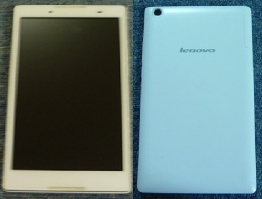 Y!mobile lenovo TAB2 【501LV】パールホワイト  ☆USED☆利用制限〇☆_画像2