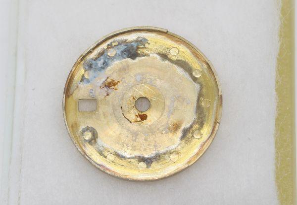 純正品 中古 ロレックス ROLEX 10P ダイヤ 文字盤 デイトジャスト用 腕時計 レディース 69173 シャンパン ゴールド ジャンク_画像4