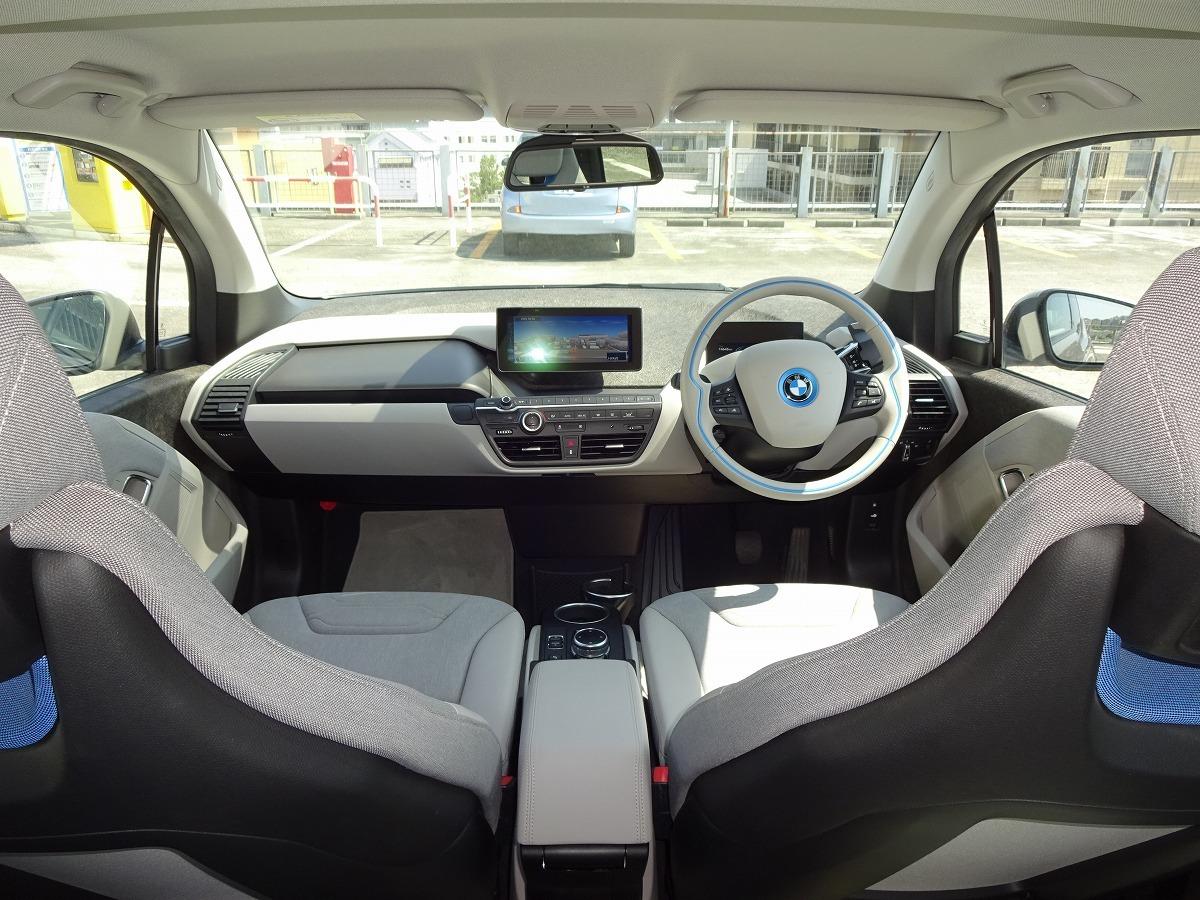 ◎27年 BMW i3 レンジエクステンダー 検 令和2年9月 走行74800キロ 美車 ACC インテリジェントセーフティ HDDナビ&バックカメラ 即乗OK! _画像3