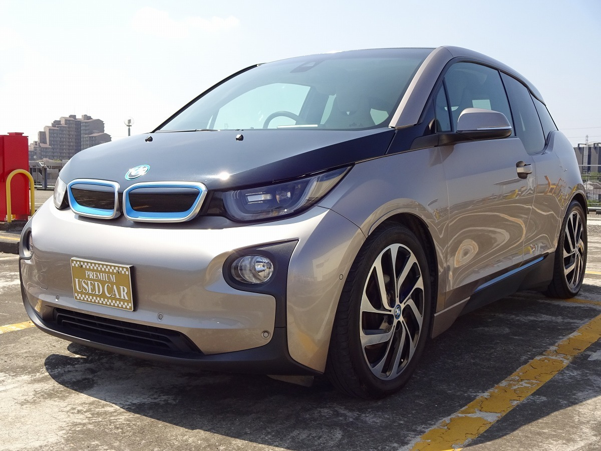 ◎27年 BMW i3 レンジエクステンダー 検 令和2年9月 走行74800キロ 美車 ACC インテリジェントセーフティ HDDナビ&バックカメラ 即乗OK! _画像10