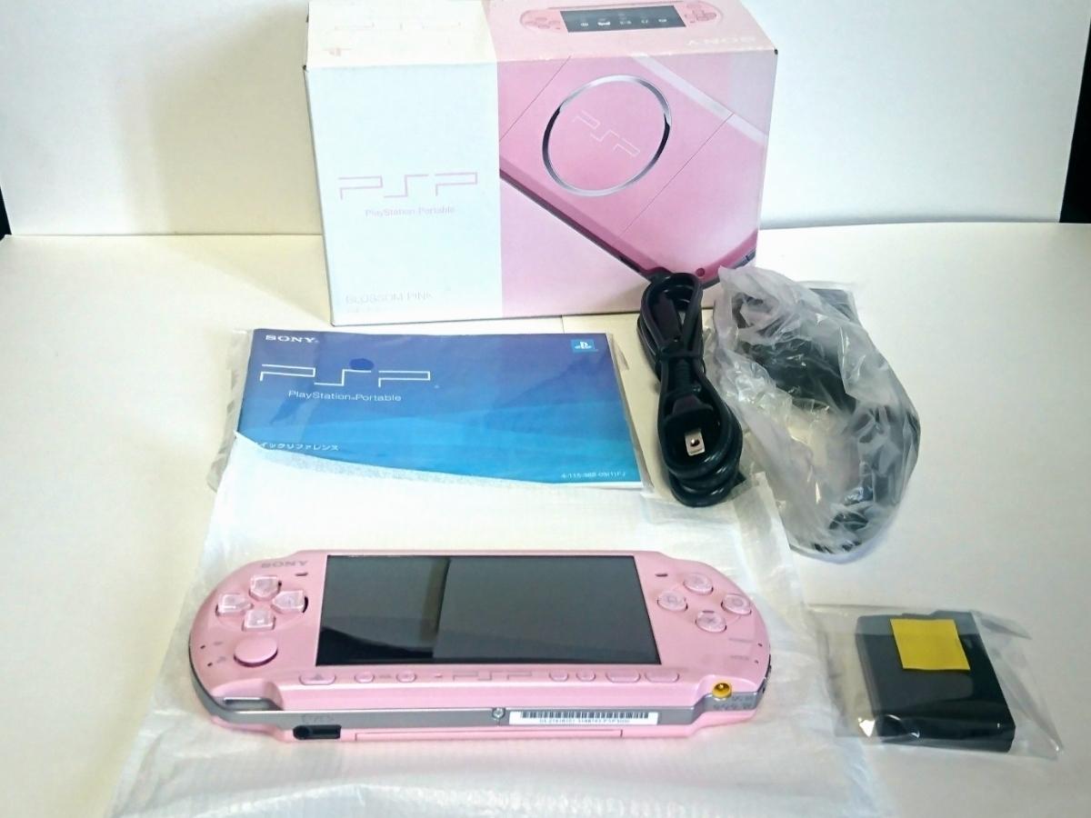 新品未使用PSP「プレイステーション・ポータブル」 ブロッサム・ピンク (PSP-3000ZP)_画像2