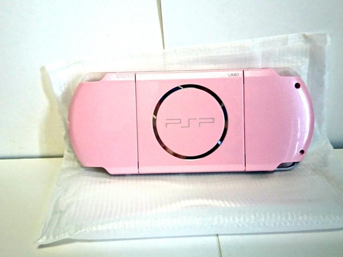 新品未使用PSP「プレイステーション・ポータブル」 ブロッサム・ピンク (PSP-3000ZP)_画像4